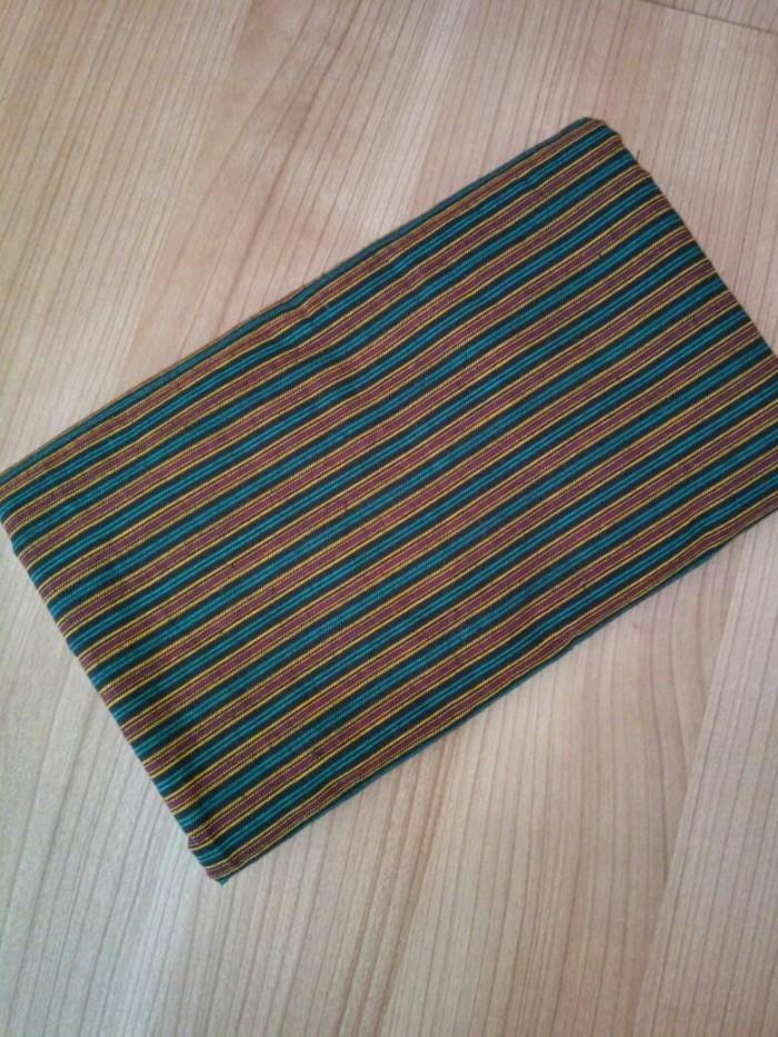 harga Kain batik tenun lurik - seri klasik hijau ulos Tokopedia.com