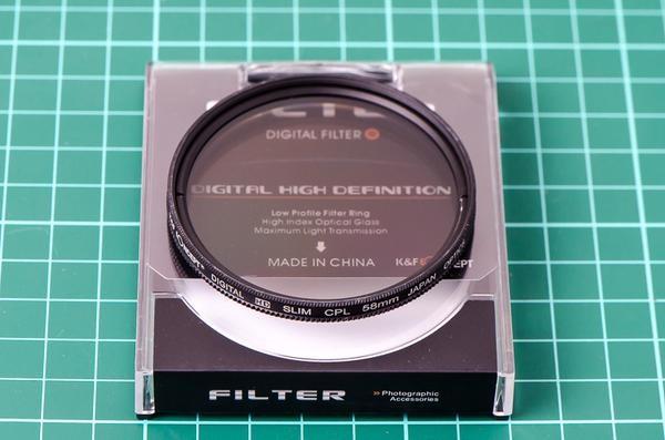 harga Kf filter slim cpl (circular polarizer) - 58mm Tokopedia.com