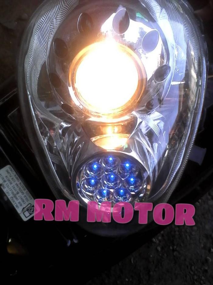 Reflector / Lampu depan Honda Scoopy karbu variasi thailand