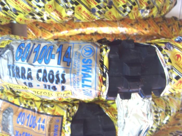 harga Ban Motor Cross Mini /trail Mini Ukuran 60/100-14 Merk Swallow Tokopedia.com