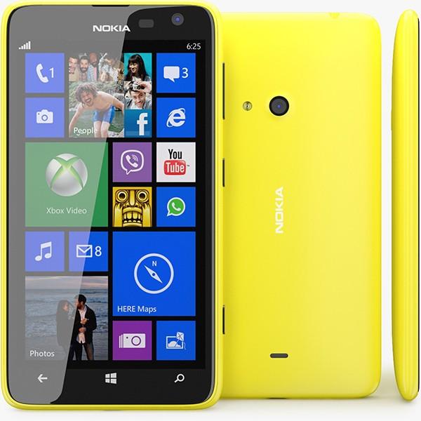 Nokia lumia microsoft 625 internal memory 8gb garansi