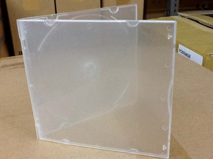 harga Case Casing Cd Single / Kotak Vcd Pp Slim Plastik Blanja.com