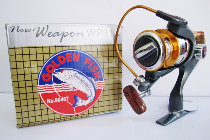 harga Reel Golden Fish Weapon Wp31x Tokopedia.com