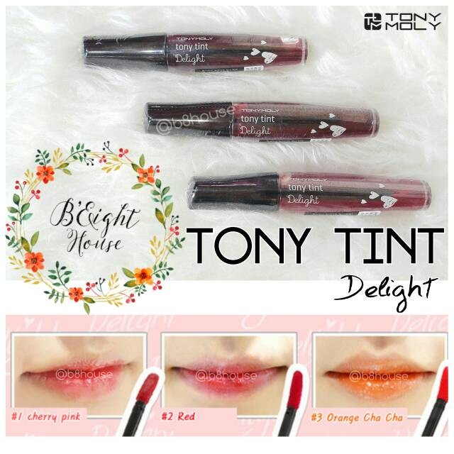 TONY MOLY - TONY TINT DELIGHT TINT ORIGINAL KOREA 100%