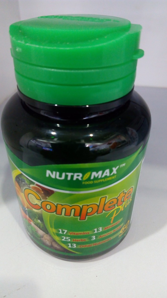 Info Nutrimax Complete Plus Travelbon.com