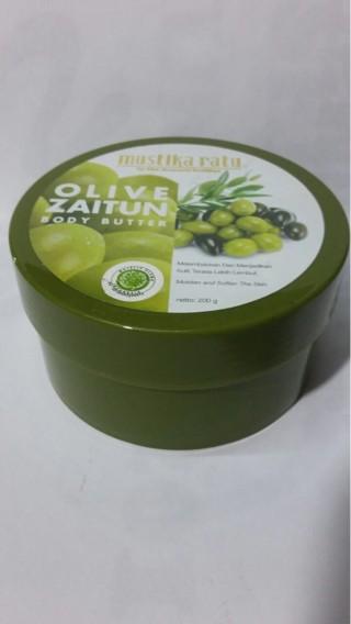 harga Body butter olive zaitun 200g Tokopedia.com