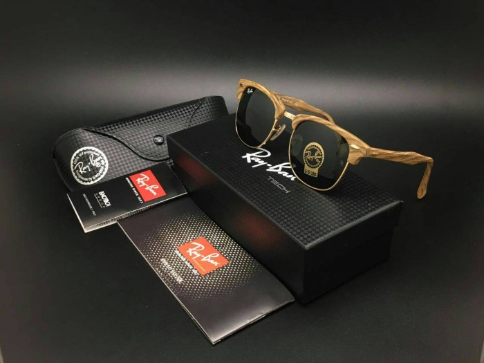 ... official store purchase kacamata rayban clubmaster wood kw super  premium ea0f8 38638 36fed 51337 129acd80ca