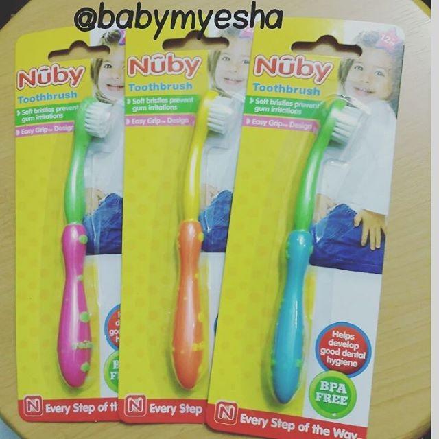 Jual Sikat Gigi NUBY Toothbrush Tooth Brush Baby Toddler 12M+ Balita ... a992191b5e