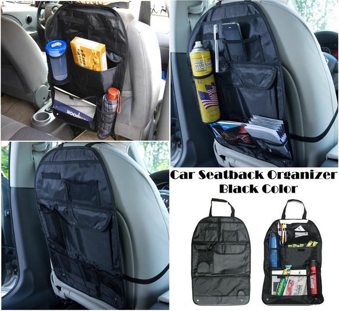 harga Car seatback bag organizer / simpan minum kaleng kotak tisu mobil Tokopedia.com