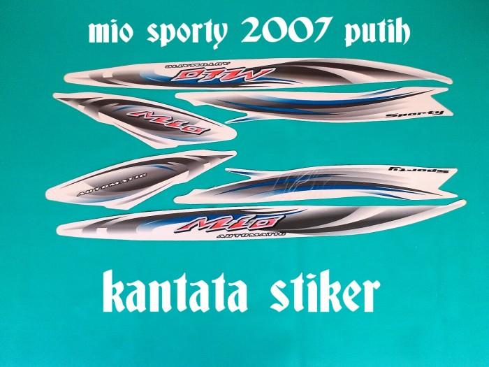 harga Stiker / striping mio sporty 2007 putih Tokopedia.com