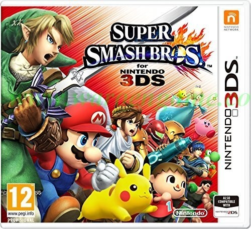 harga 3ds super smash bros (nintendo 3ds game ori usa/asia) Tokopedia.com