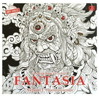 Anti Stress Fantasia Coloring Book For Adults Nicholas F
