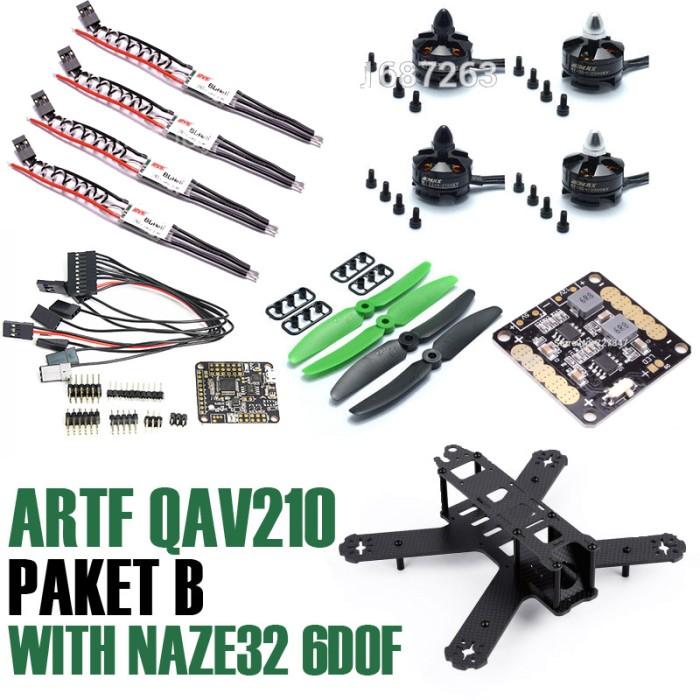 harga Artf qav210 210mm quadcopter drone racing - paket b Tokopedia.com