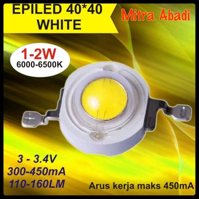 HPL 1 Watt EPILED White/Putih 6000-6500K 350-450 mA High Quality