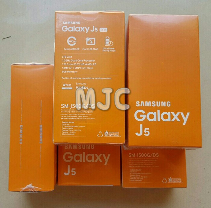 Foto Produk NEW Samsung galaxy J5 Garansi Resmi SEIN Black n White dari MJC