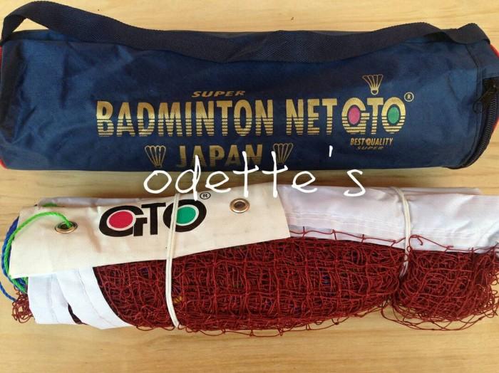 harga Net badminton gto / net bulu tangkis gto Tokopedia.com