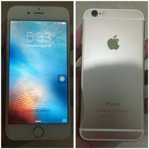 Jual iphone 6 16gb gold fu batangan murah - kidfunstore  f8d1c7f101