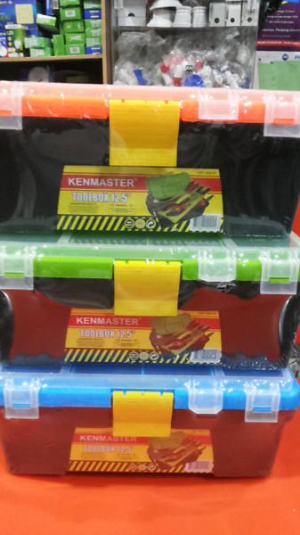 harga Toolbox sedang /tool box kenmaster 12.5  / tempat perkakas dan kompone Tokopedia.com