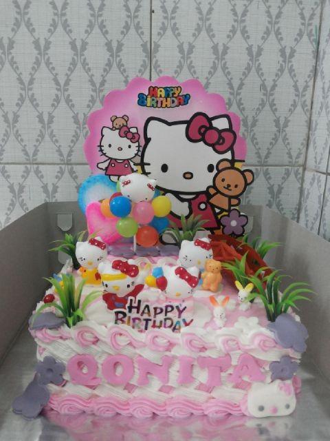 Jual Kue Tart Ulang Tahun Hello Kitty Kotak Kota Surabaya Pannypinoypancake Tokopedia