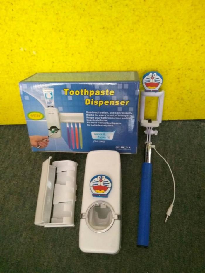 harga Dispenser odol karakter plus tongsis kabel karakter Tokopedia.com