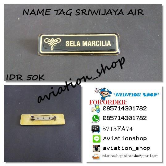 harga Name tag sriwijaya air Tokopedia.com