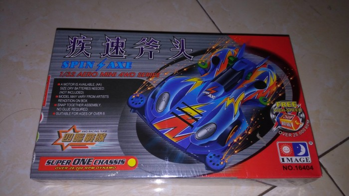 harga Tamiya image mini 4wd go for speed series spin axe Tokopedia.com