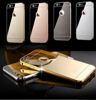 harga Case bumper mirror iphone / tempered glass / stelan futsal / jersey Tokopedia.com