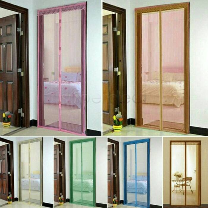 harga Tirai pintu magnetic anti nyamuk dekorasi rumah curtain magnetic Tokopedia.com