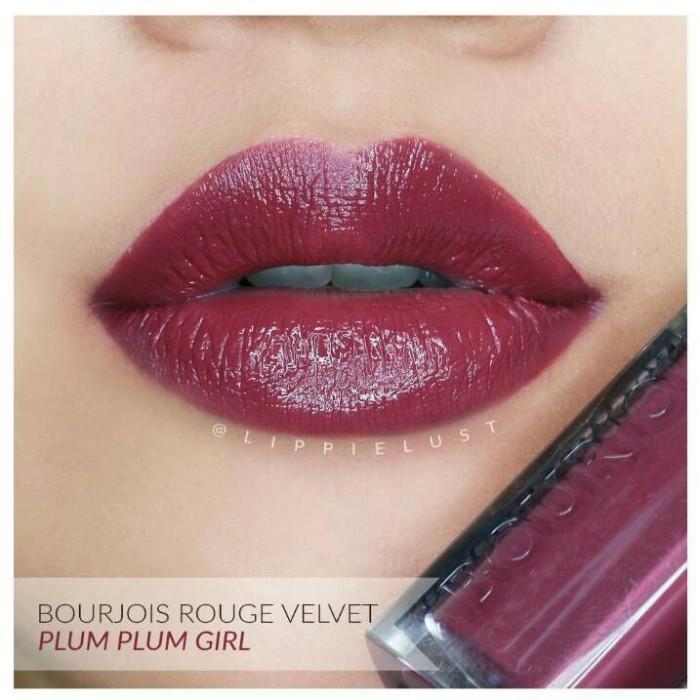 harga Bourjois rouge edition velvet t14 - plum plum girl Tokopedia.com