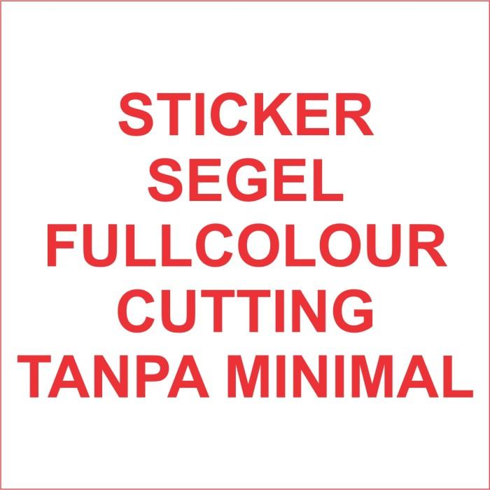 Foto Produk Stiker segel Garansi fullcolour dg cutting (bahan pecah telur) dari Samurai Printing Comp