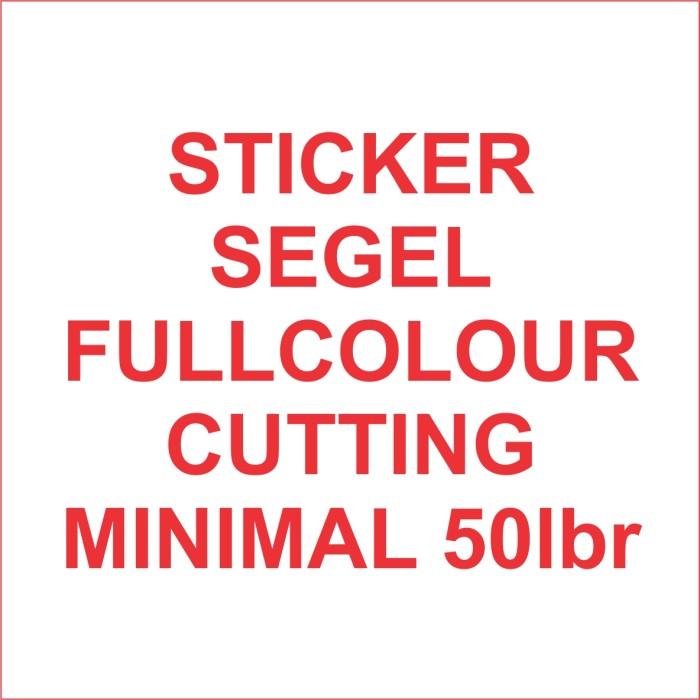 Foto Produk Stiker segel Garansi fullcolour dg cutting (bahan pecah telur) #50lbr dari Samurai Printing Comp