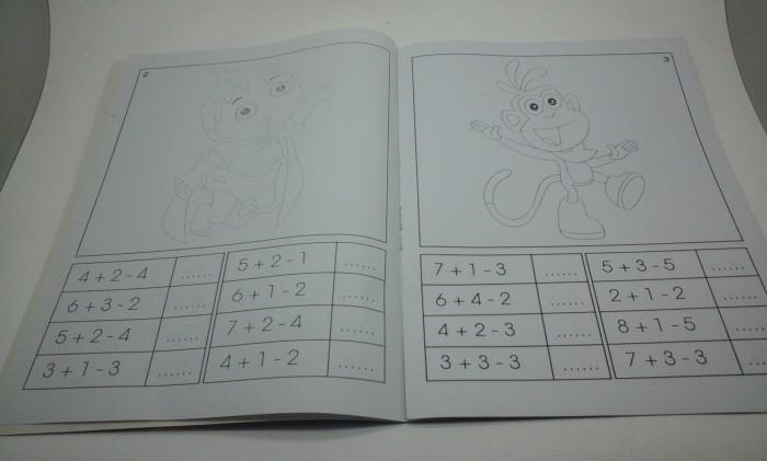 Jual Buku Mewarnai Gambar Dora Hidayah Print Tokopedia