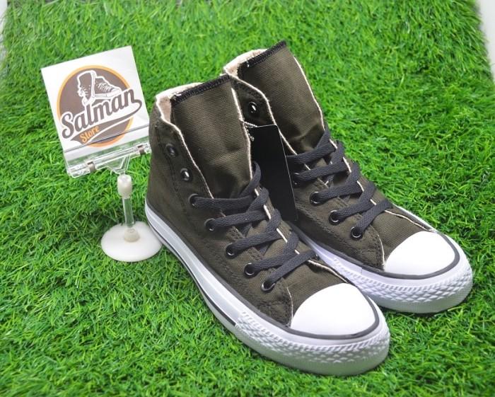 Jual Jual Sepatu Converse ALL STAR High Army Green - Uneedcollection ... e2de04c24e