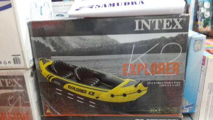 harga Perahu kano/ kayak intex exploler k2 Tokopedia.com