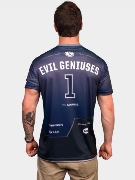 Kaos Gaming - Jersey Evil Geniuses logo
