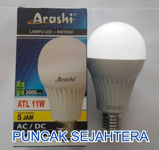 Foto Produk Lampu LED emergency Arashi 11 watt 11w dari Puncak Sejahtera