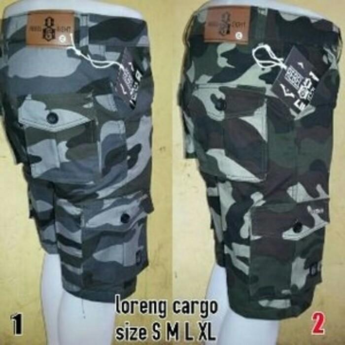 harga Celana kargo pendek loreng army hijau pria |cargo| pdl |chino| jogger Tokopedia.com