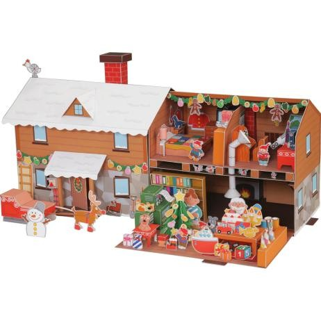 Jual Diy Miniatur Papercraft Rumah Santa Claus Jakarta Timur Merpati Store Tokopedia