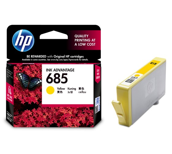 harga Hp 685 Yellow Original Ink Advantage Cartridge (~300 Pages) [cz124aa] Tokopedia.com