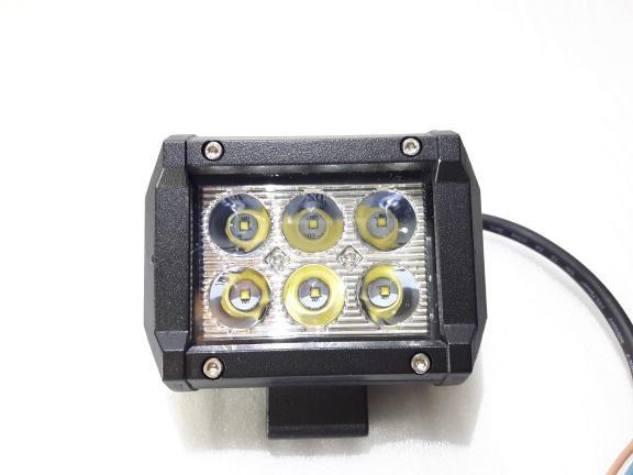 harga Lampu sorot/offroad led 6 mata 18w fokus motor mobil Tokopedia.com