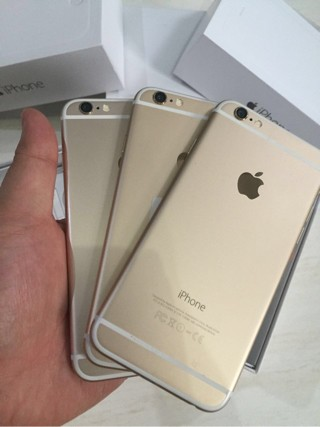 Jual APPLE IPHONE 6 128GB GOLD - SECOND FULLSET - MS Store  5218621b15
