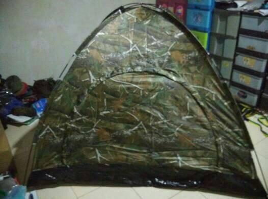 harga Tenda dome kapasitas 4/5 orang, loreng / kamuflase ultra light 1,6kg Tokopedia.com