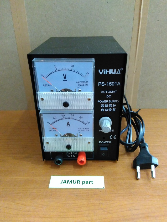 harga Power supply yihua 1501a (analog) Tokopedia.com
