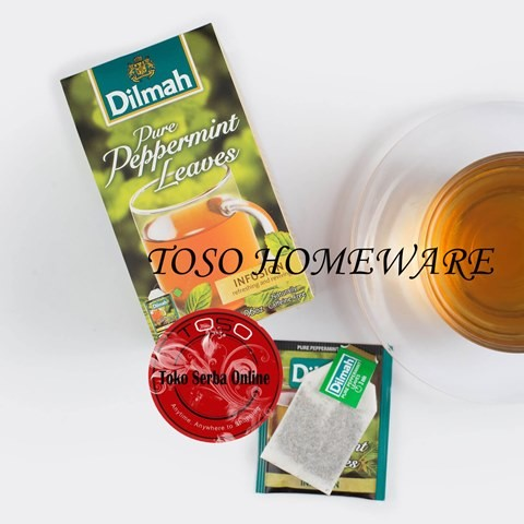 harga Teh dilmah peppermint tea teh celup- 20 teabags Tokopedia.com
