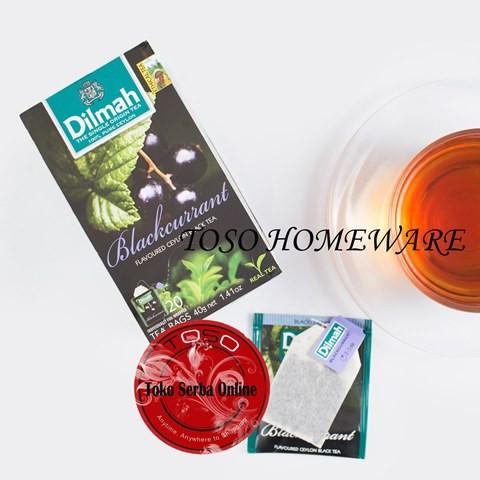 harga Teh dilmah blackcurrant tea teh celup- 20 teabags Tokopedia.com