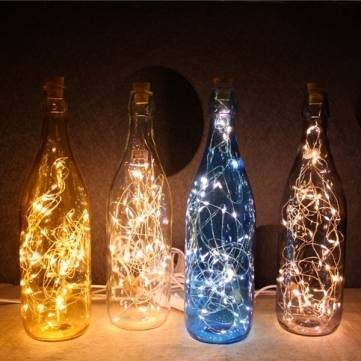 bottle lighting. Cordless Micro LED Glass Bottle Lights Night Light Lampu Hias Unik Lighting