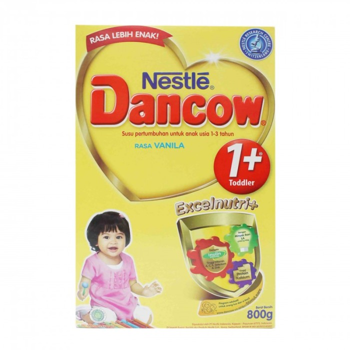 harga Dancow vanila 1+ dha excelnutri 800 gr Tokopedia.com