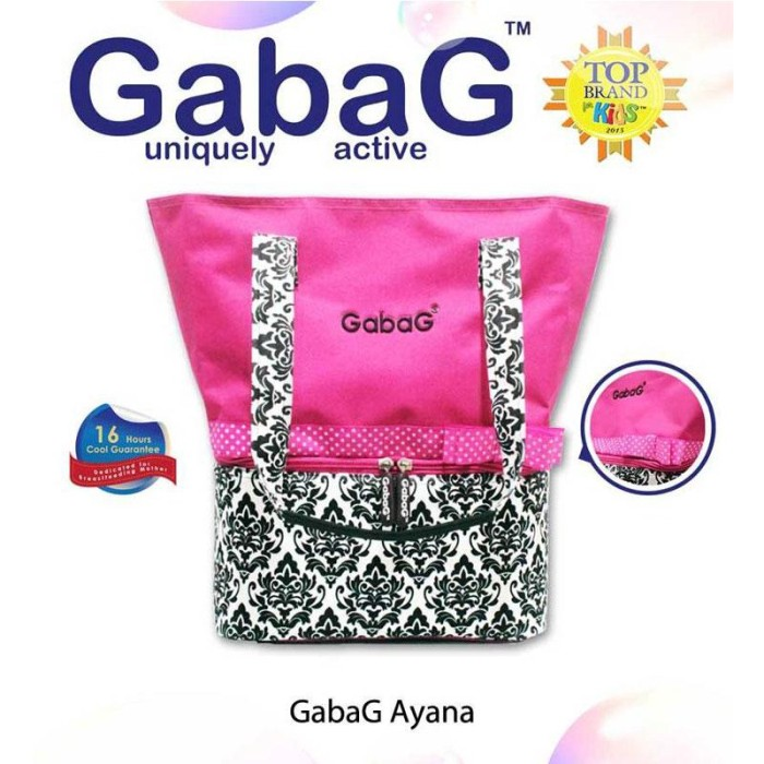 Tas asi/cooler bag gabag ayana baby bow