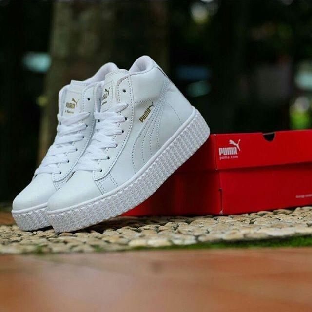 Puma Rihanna Mid ( Sepatu puma cewek kado unik kado ultah sepatu jalan 745e6261bd