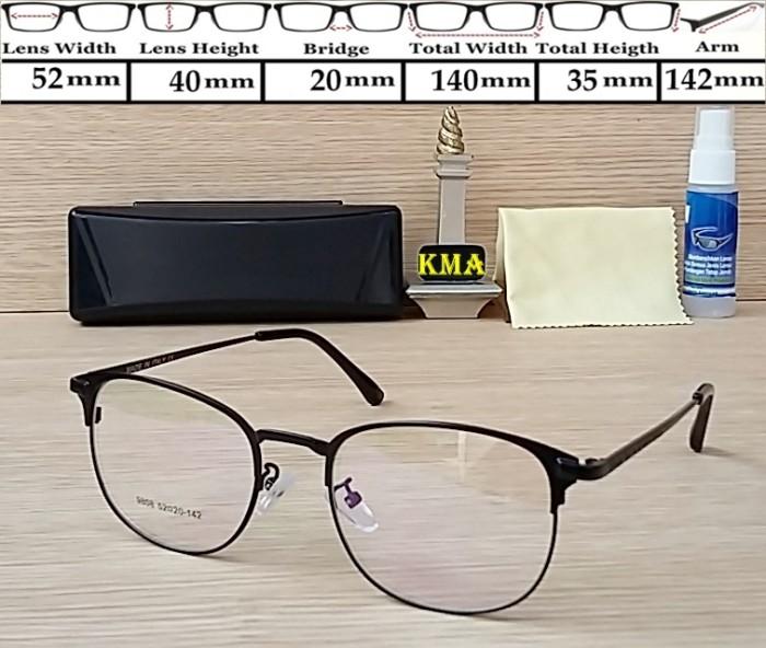 Jual frame besi   Frame kacamata   kacamata bulat   lensa kacamata ... e250e49254